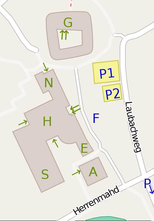 Karte Carl-Laemmle-Gymnasium
