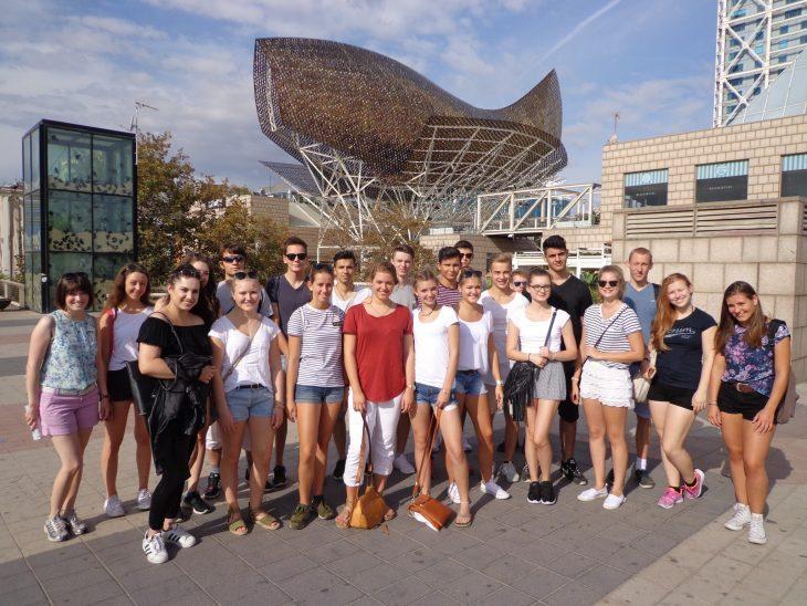 Teilnehmer Studienfahrt Barcelona