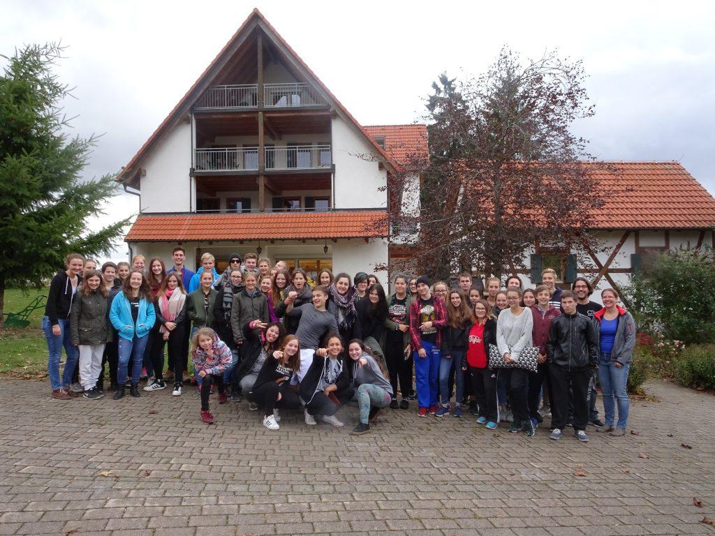 Teilnehmer SMV-Hütte 2016