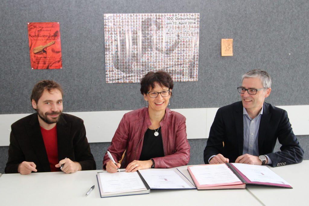Lars Mayr, Petra Braun, Dr. Matthias Schönwald