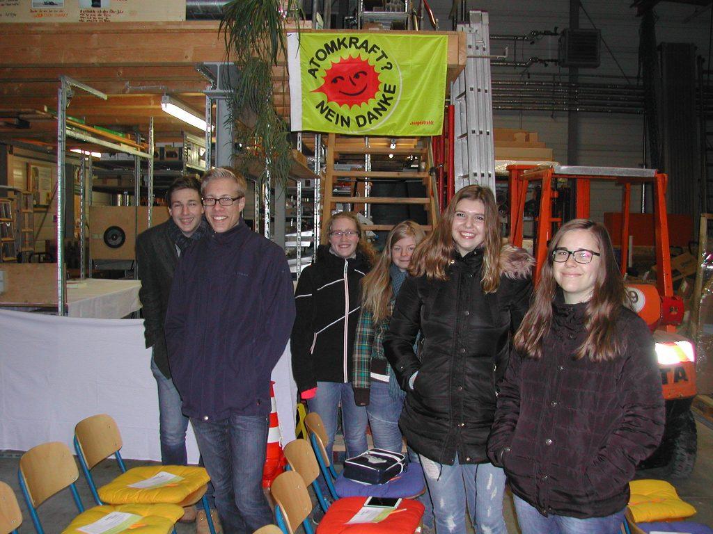 """Nachhaltigkeits-AG 26. Januar bei der Firma """"System Sonne"""""""
