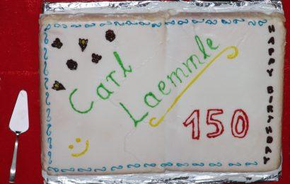 Torte zum 150. Geburtstag