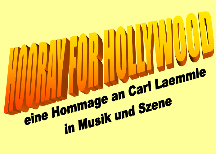 "Ausschnitt Plakat ""Hooray for Hollywood!"""