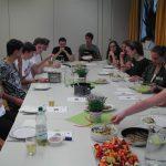 Essen mit der Nachhaltigkeits AG