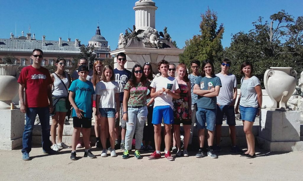 Spanienfahrt Klasse 10 im Schuljahr 17/18