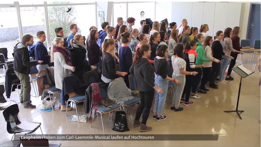 Proben für Carl-Laemmle-Musical laufen auf Hochtouren