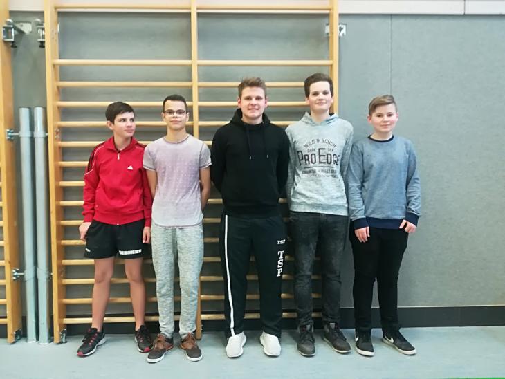CLG-Tischtennisteam der Jungen SJ17/18