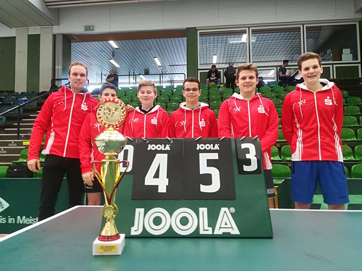 Sieger Tischtennis Landesfinale 2018