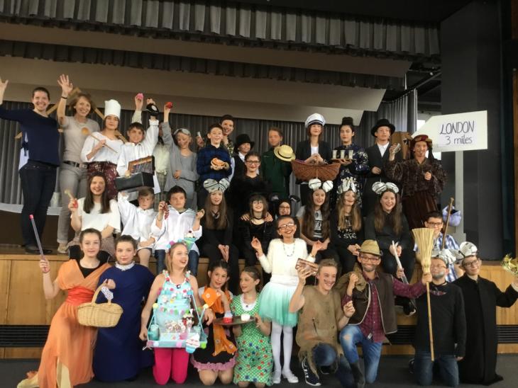 Teilnehmer English Drama Group 2018