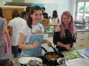 Kochkurs bei der Biberacher Ernährungs Akademie