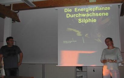 """Vortrag """"Die Energiepflanze Durchwachsene Silphie"""""""