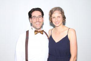 David Oesch und Carolin Schwarz