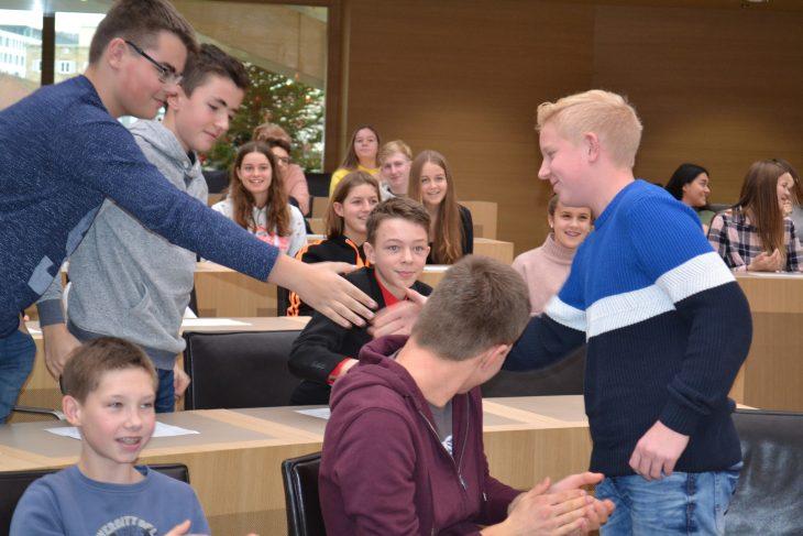 Gratulation zur Wahl Landtag