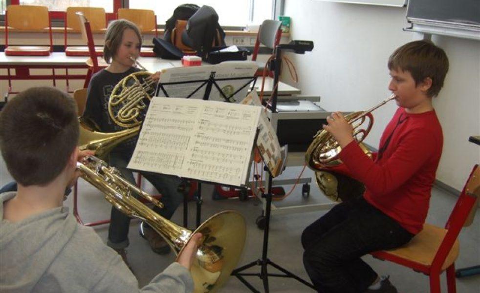 Gruppenunterricht-Horn