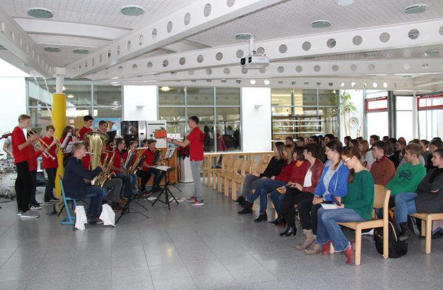 Feier der Auszeichnung als DELF-Partnerschule