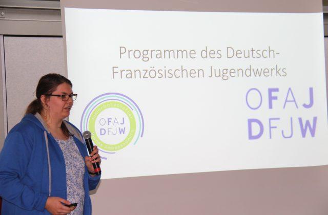 Frau Engel vom OFAJ/DFJW