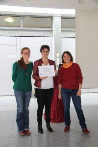 Frau Deprince, Frau Braun und Frau Dr. Bendrath