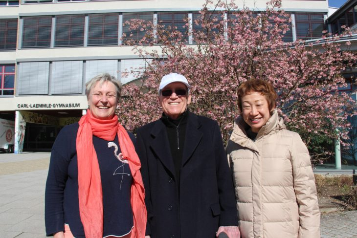 """Ursula Cüppers, Sandholm """"Sandy"""" Einstein mit Ehefrau"""