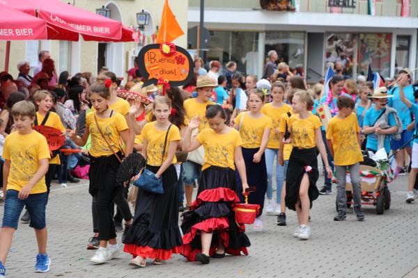 Heimatfest 2019 Sprachen der Welt