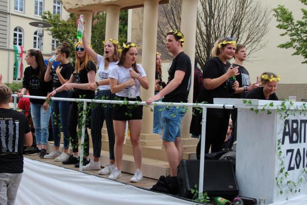 Heimatfest 2019 Abiturienten
