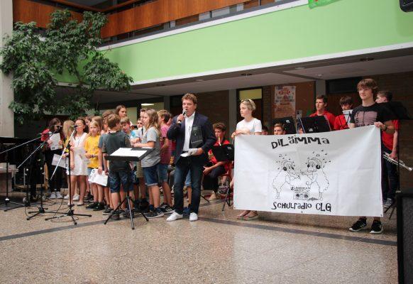 Radio-AG DiLämma stellt ihr Hörspiel vor
