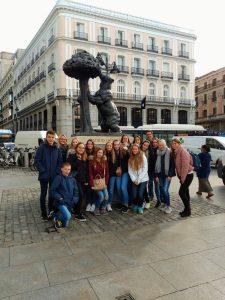 Austausch mit der St.Georges School in Madrid