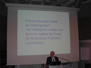 Professor Ernst Ulrich von Weizsäcker